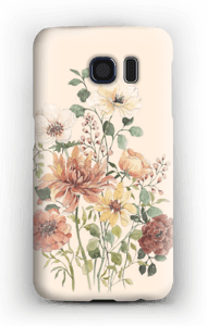 Spring Flowers case Galaxy S6