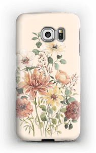 Vårblomster  deksel Galaxy S6 Edge