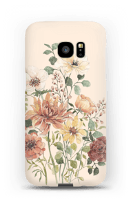 Forårsblomster cover Galaxy S7 Edge