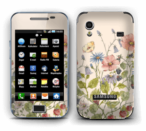 Wild Flowers  Skin Galaxy Ace