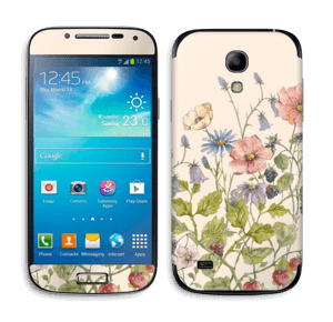 Blomstereng Skin Galaxy S4 Mini