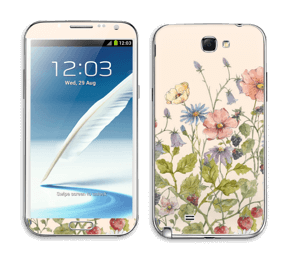 Blomstereng Skin Galaxy Note 2