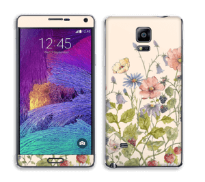 Blomstereng Skin Galaxy Note 4