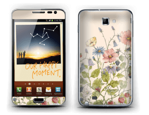 Spring Flowers  Skin Galaxy Note