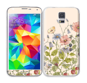 Blomstereng Skin Galaxy S5