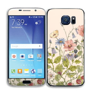 Blomstereng Skin Galaxy S6