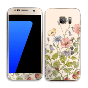 Blomstereng Skin Galaxy S7