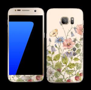 Spring Flowers  Skin Galaxy S7