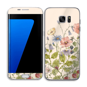 Blomstereng Skin Galaxy S7 Edge