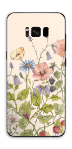 Blomstereng Skin Galaxy S8 Plus