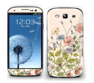 Blomstereng Skin Galaxy S3