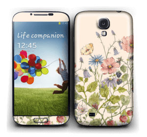 Blomstereng Skin Galaxy S4