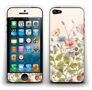 Bouquet sauvage Skin IPhone 5