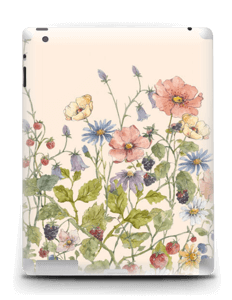 Bouquet sauvage Skin IPad 4/3/2