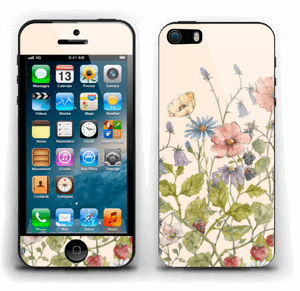 Blomstereng Skin IPhone 5s