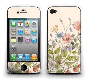 Blomstereng Skin IPhone 4/4s
