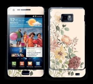 Vil blomsterbukett Skin Galaxy S2