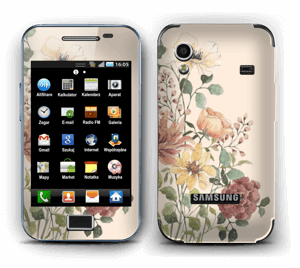 Spring Flowers Skin Galaxy Ace