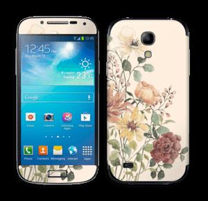 Vil blomsterbukett Skin Galaxy S4 Mini