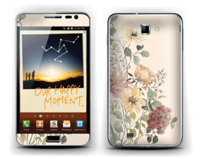 Wild Flowers  Skin Galaxy Note