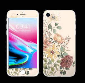 Vil blomsterbukett Skin IPhone 8