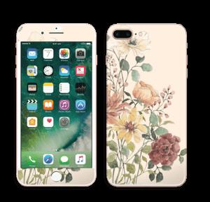 Vild buket med blomster Skin IPhone 7 Plus