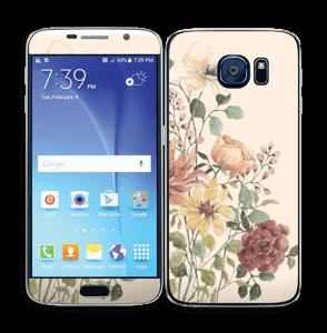 Vild buket med blomster Skin Galaxy S6