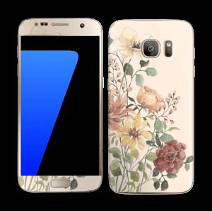 Wild Flowers  Skin Galaxy S7