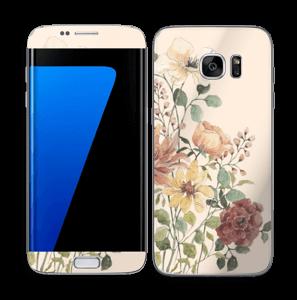 Vil blomsterbukett Skin Galaxy S7 Edge