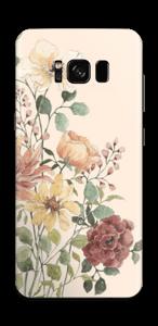 Vild blombukett Skin Galaxy S8