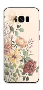 Wild Flowers  Skin Galaxy S8 Plus