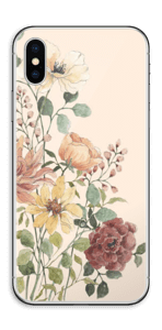 Vil blomsterbukett Skin IPhone XS