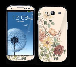 Vil blomsterbukett Skin Galaxy S3