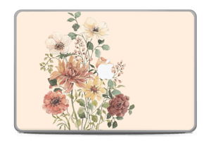 "Wild Flowers  Skin MacBook Pro 17"" -2015"