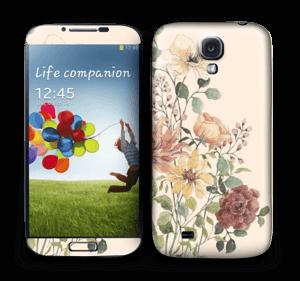 Spring Flowers Skin Galaxy S4