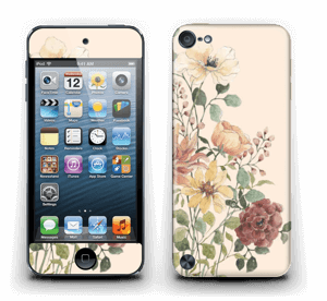 Spring Flowers Skin IPod Touch 5th Gen