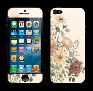 Vil blomsterbukett Skin IPhone 5