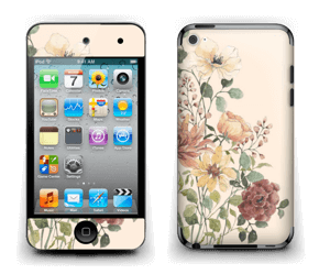 Wild Flowers  Skin IPod Touch 4th Gen