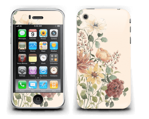 Vil blomsterbukett Skin IPhone 3G/3GS