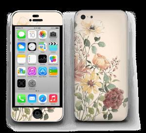 Vil blomsterbukett Skin IPhone 5c