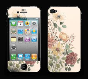 Vil blomsterbukett Skin IPhone 4/4s