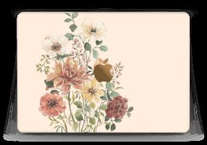 """Vild buket med blomster Skin MacBook 12"""""""