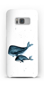 To hvaler cover Galaxy S8