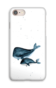 To hvaler cover IPhone 8