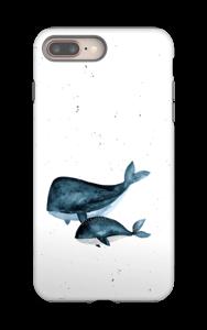 Valaat kuoret IPhone 8 Plus tough