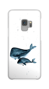 Two Whales case Galaxy S9