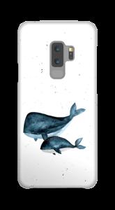 Två valar skal Galaxy S9 Plus