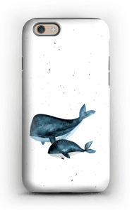 Two Whales case IPhone 6 tough