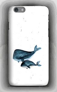 Deux baleines bleues Coque  IPhone 6s
