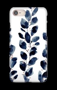 Blå löv skal IPhone 8